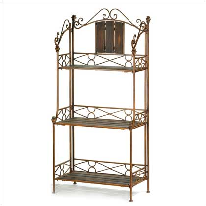 10012516 Rustic Bakeru0027s Rack Shelf
